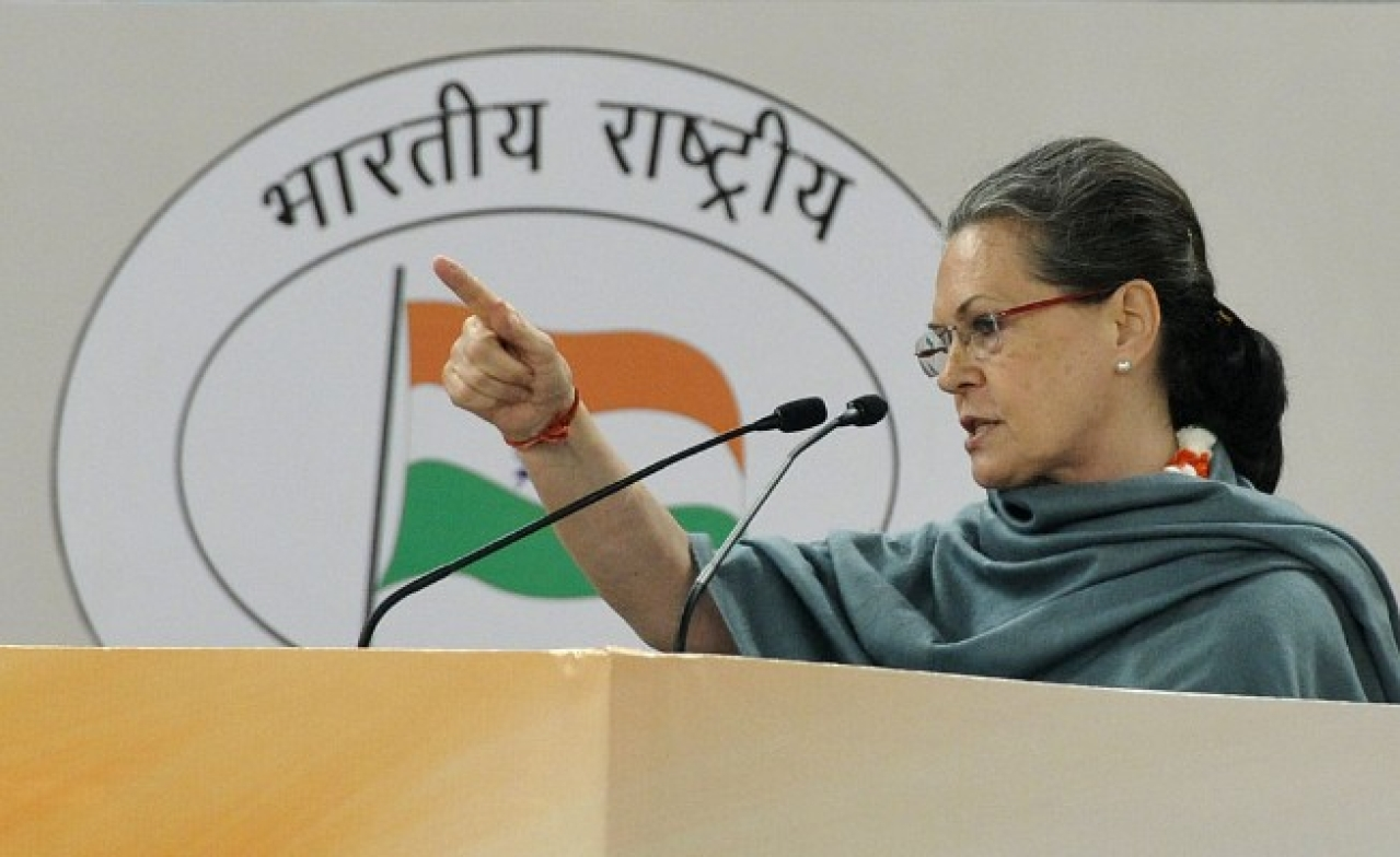 The sectarian laws designed by Sonia Gandhi's party are at work. (Mohd Zakir/Hindustan Times via Getty Images)
