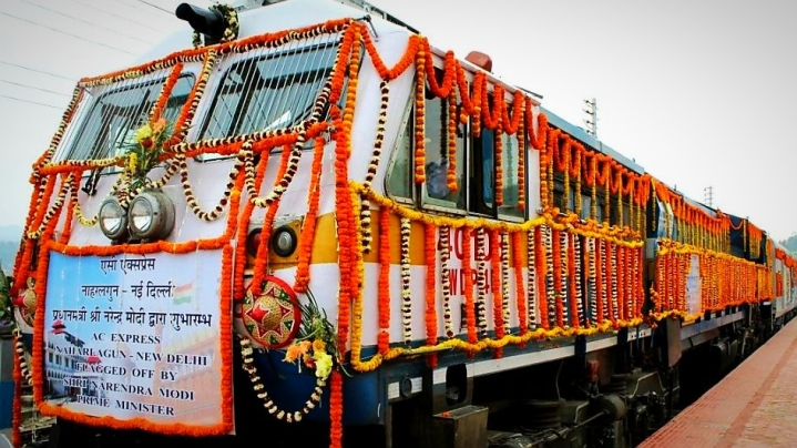 Arunachal Express Connecting Arunachal Pradesh To New Delhi Launched By Indian Railways