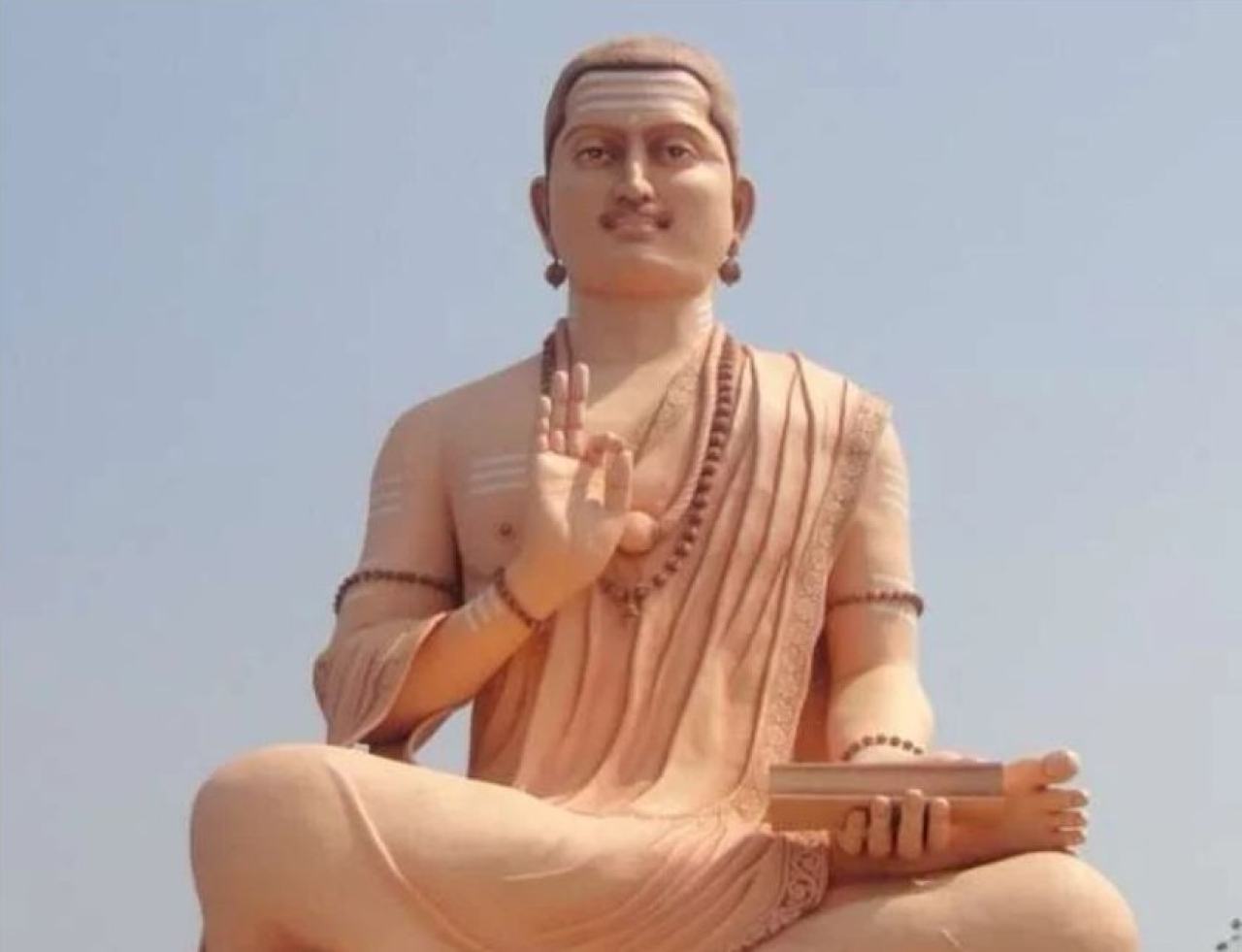 Basavanna, who is credited with founding Lingyatism. (Sscheral via Wikimedia Commons)