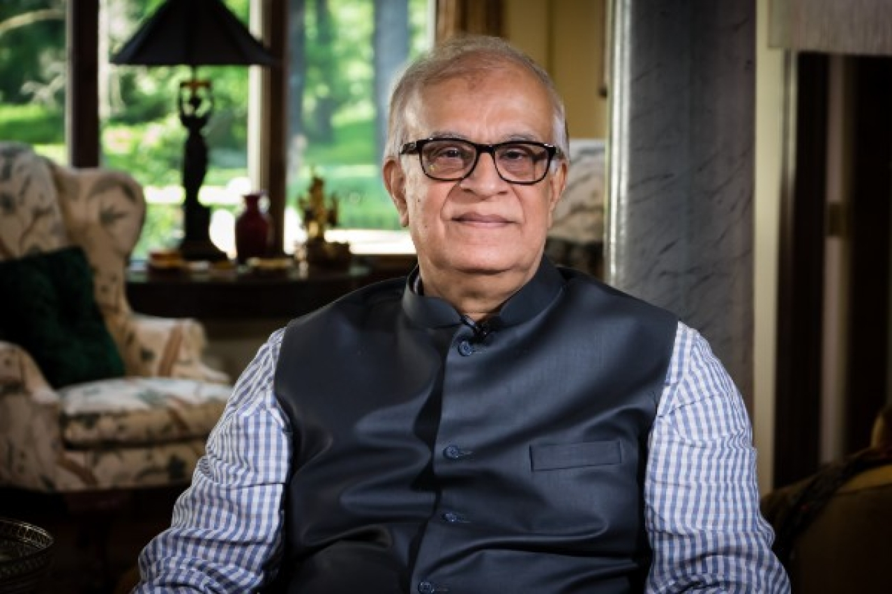 Author and intellectual Rajiv Malhotra