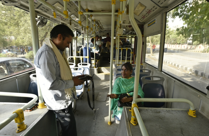 International Women's Day: Delhi Tries Out Panic Buttons For Women In Buses