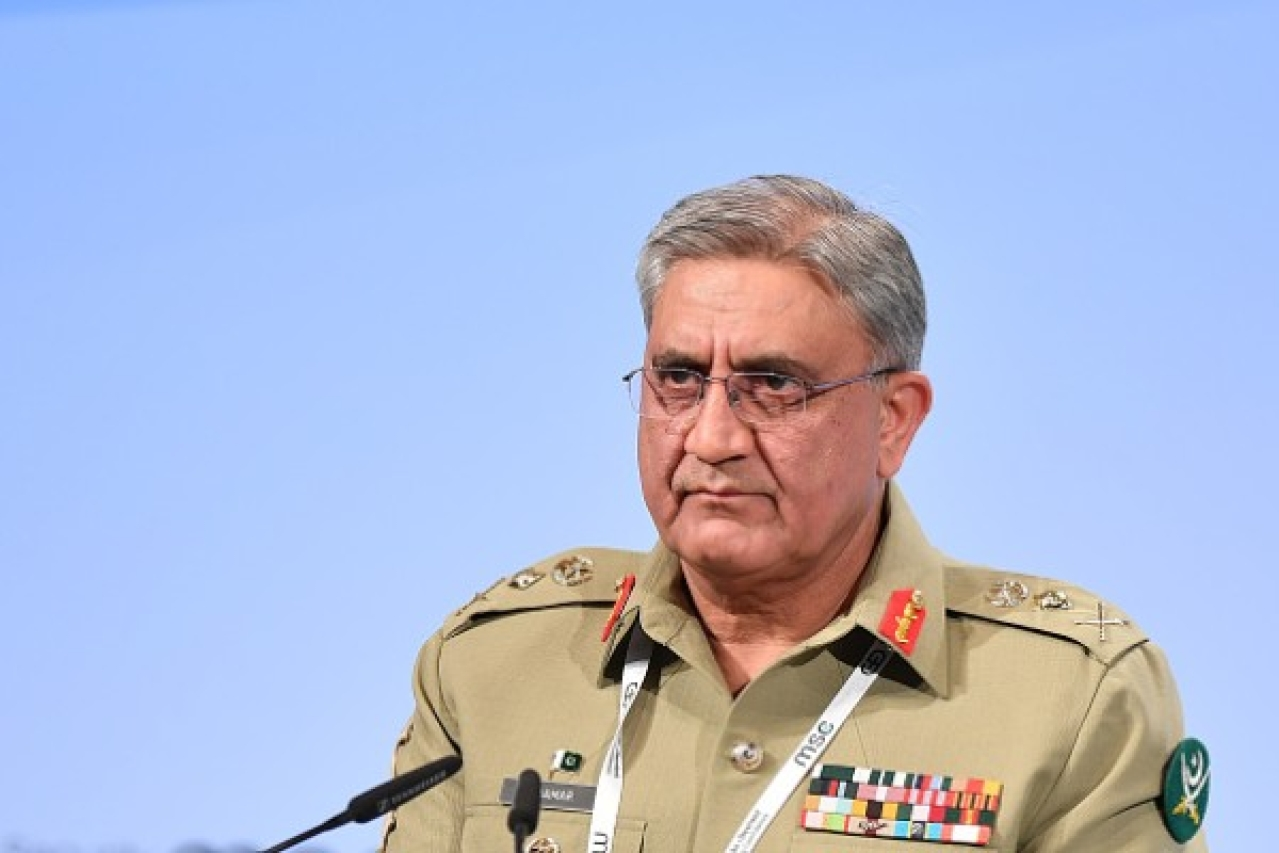 Pakistan's Chief of Army Staff Qamar Javed Bajwa (Sebastian Widmann/Getty Images)