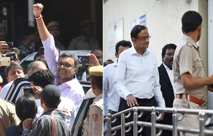 ED Grills P Chidambaram's Son Karti Chidambaram In Aircel-Maxis Deal Case  For The Third Time In April
