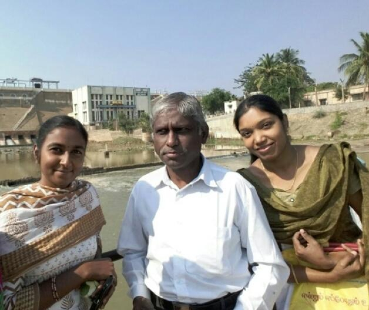 From left, Dr Uma Devi, Dr T Umakanthan and Dr P Madhumathi