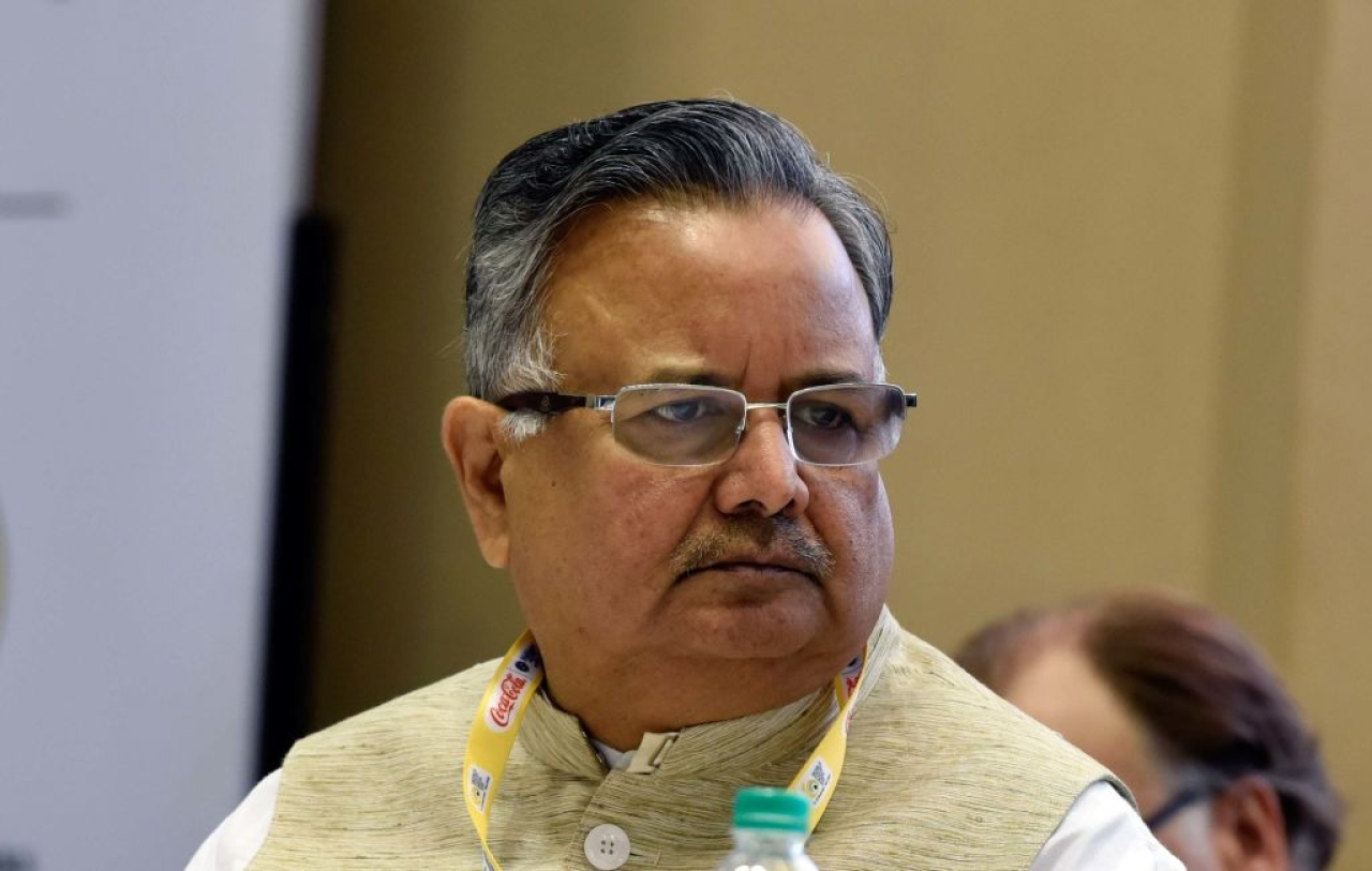 Chhattisgarh Chief Minister Raman Singh (Mohd Zakir/Hindustan Times via Getty Images)