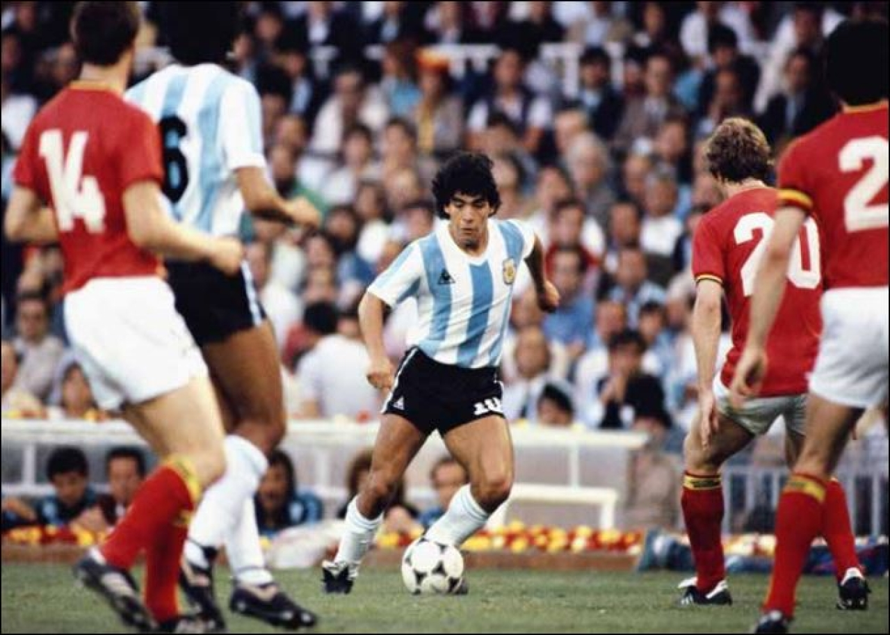 Nothing could stop us from living in a make-believe world of having our own soccer 11, and Maradona would always lead that pack, across generations.