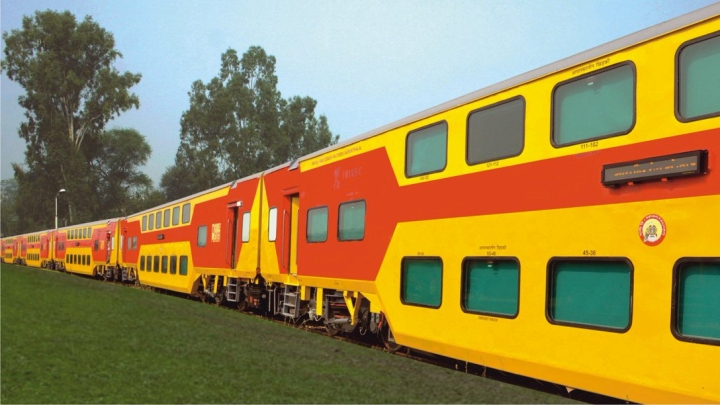 Indian Railways  To Roll Out Second Uday Express; New Features Added To Luxury Double-Decker