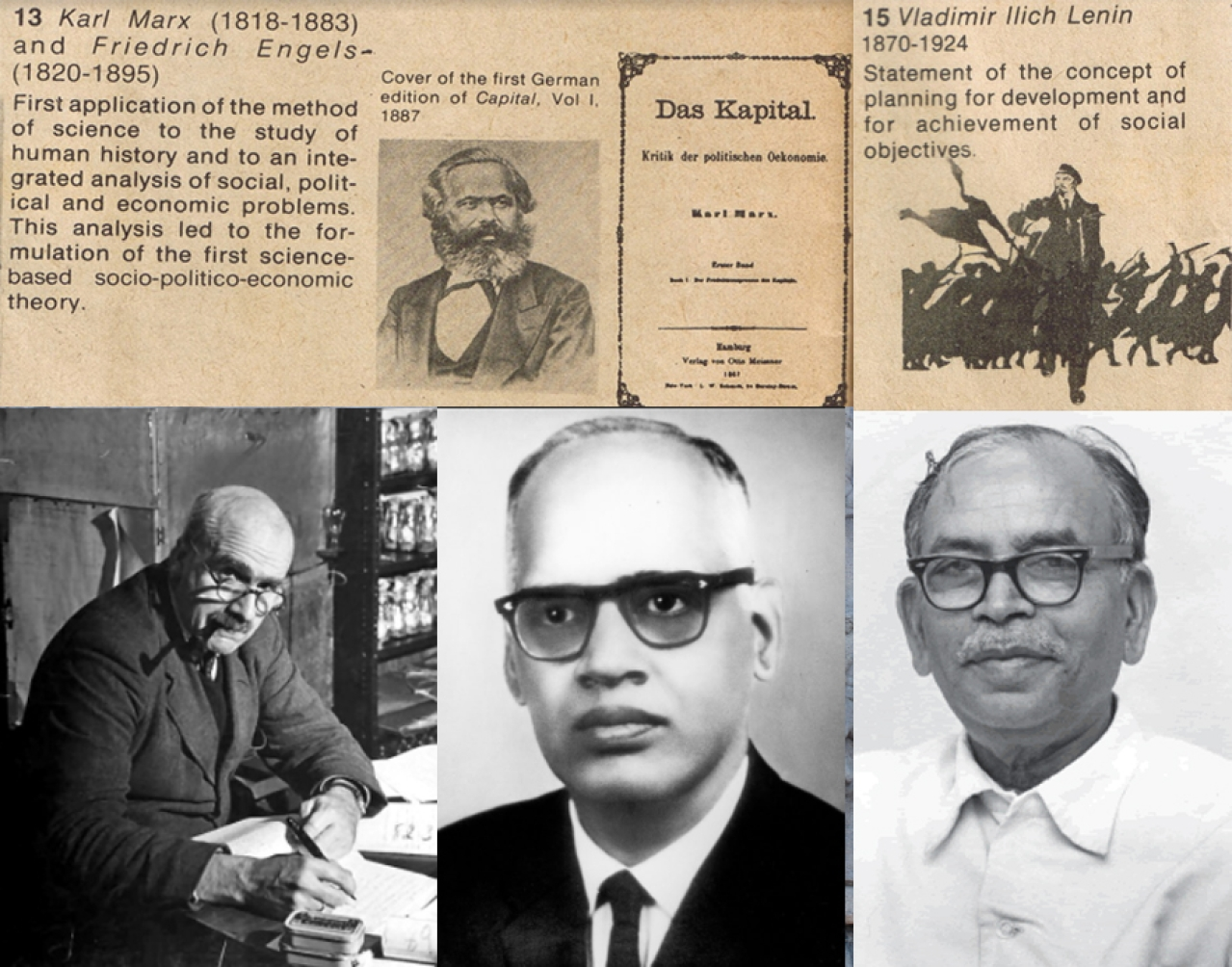 While individual Indian scientists (below) have significantly contributed to positive interaction of science and Indian culture, Nehruvian establishment promoted only pro-Marxist propaganda as 'scientific temper'.
