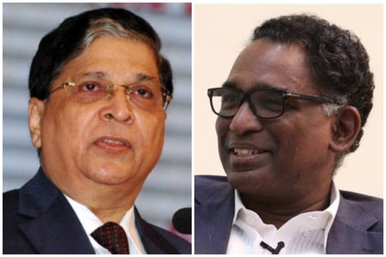 Chief Justice Dipak Misra and Justice J Chelameswar.
