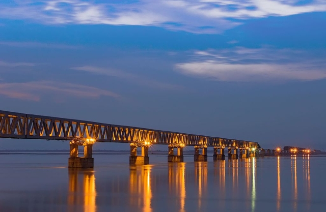 How India's Longest Rail-road Bridge Will Help The Army