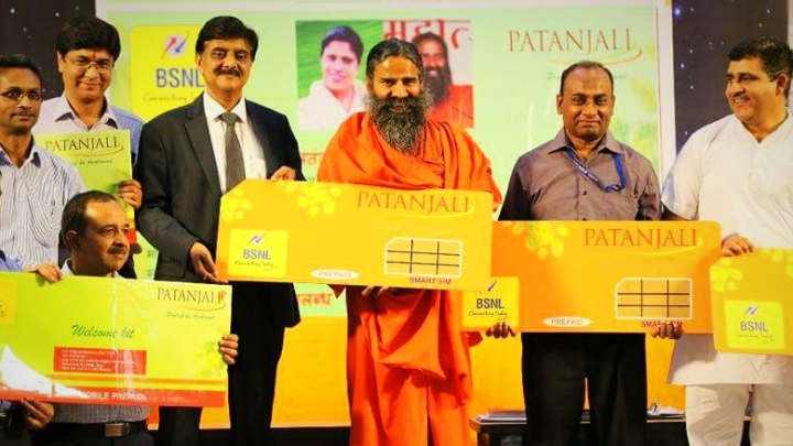 Patanjali To Now Launch 'Swadeshi' SIM Cards; To Partner With BSNL For Telecom Foray