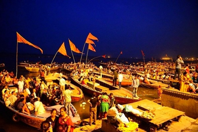 The  Banaras Ghats They Are A-Changin'