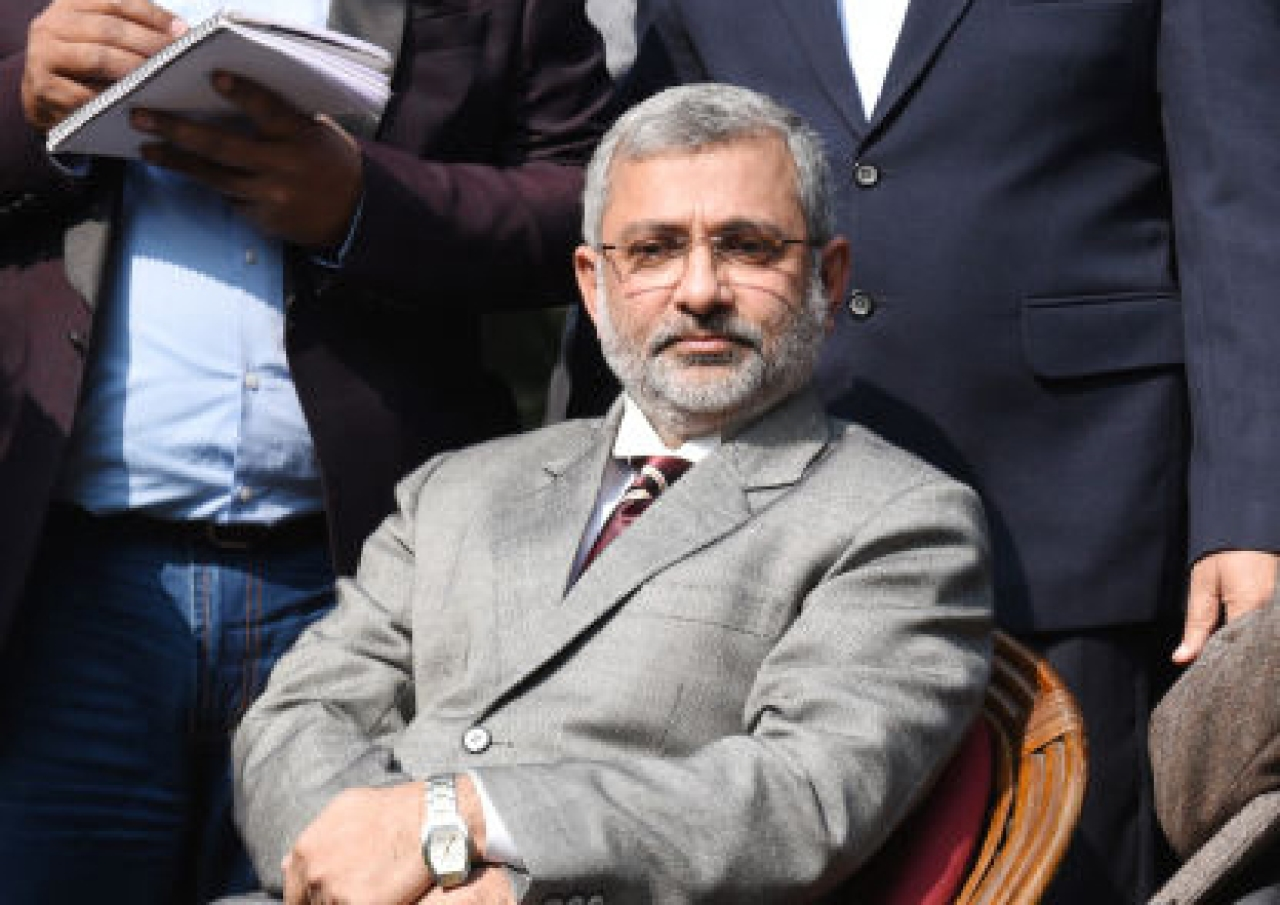 Former Supreme Court judge Kurian Joseph in New Delhi. (Arvind Yadav/Hindustan Times via GettyImages)