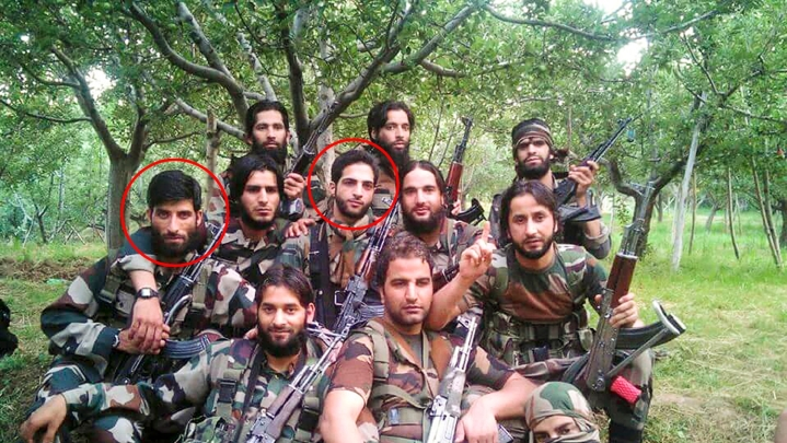 All Terrorists In Burhan Wani's Viral Group Photo, Except The One Who Surrendered, Killed By Forces