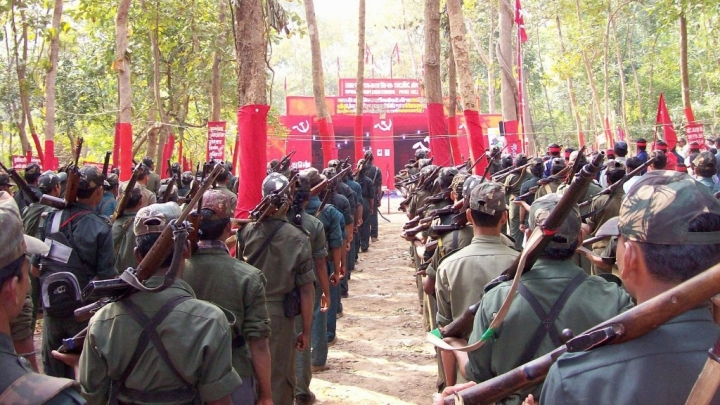 Maoist Attack In Jharkhand's Saraikela District Leaves Five Policemen Dead; Search Operations Underway