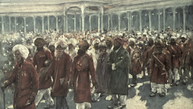 The Delhi Durbar Of 1903, In The Colonial Eye