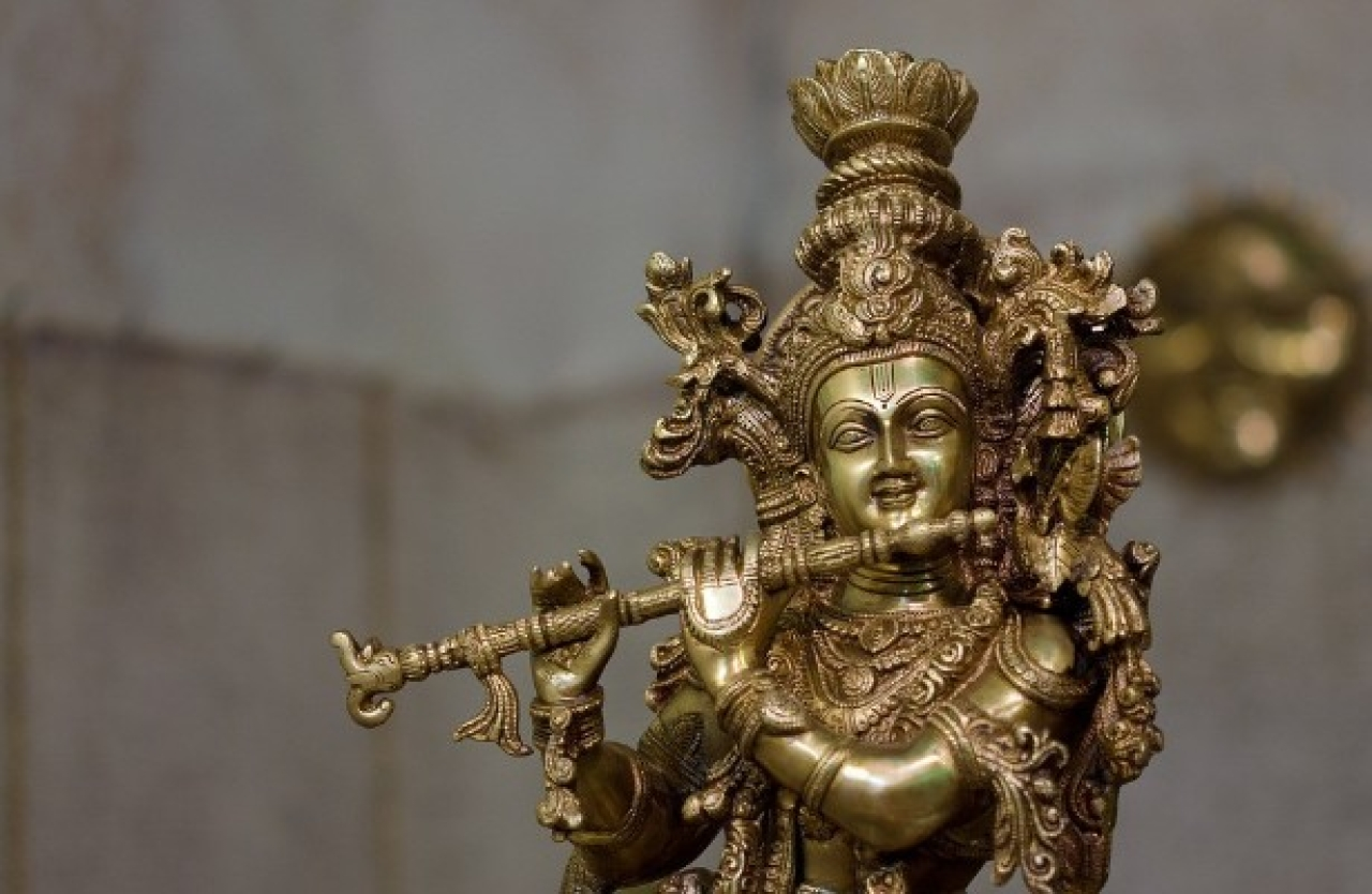 New Book Revisits The Life Of Krishna – Not As God But As A Gifted