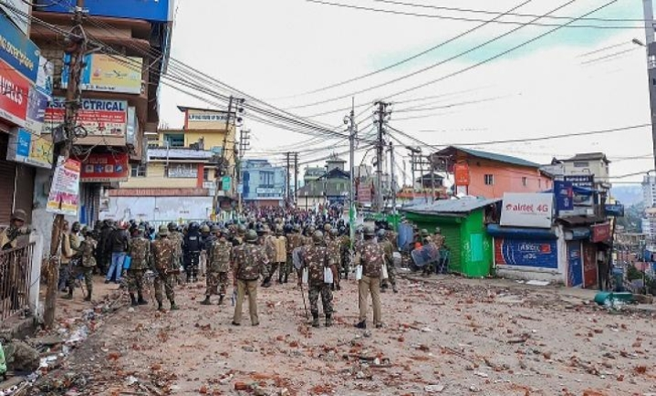 Army Jawans Attacked In Curfew Bound Shillong, Situation Grim