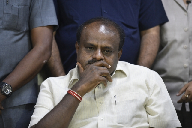 Why Is Kumaraswamy Uncertain About His Job After 2019?