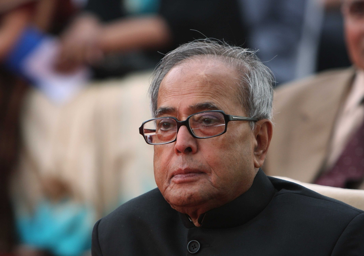 Pranab Mukherjee. (Arvind Yadav / Hindustan Times via Getty Images)