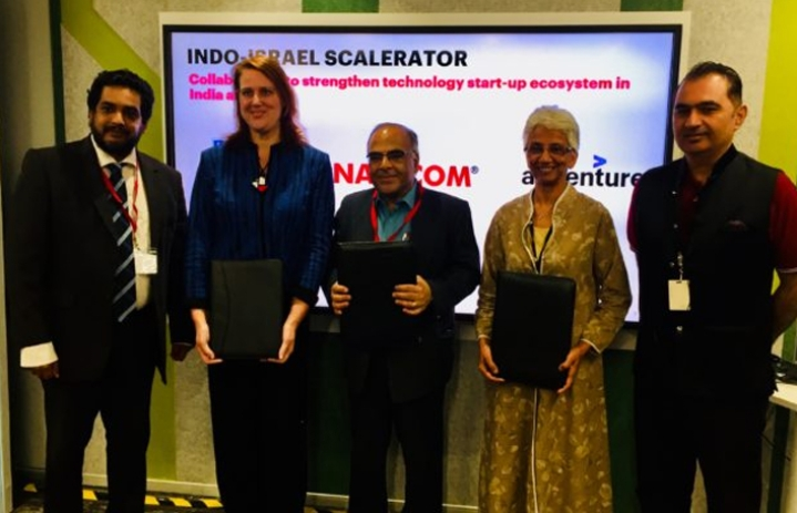 'Scalerator' – First Of Its Kind Indo-Israeli Collaboration In Cutting Edge Tech-Startups