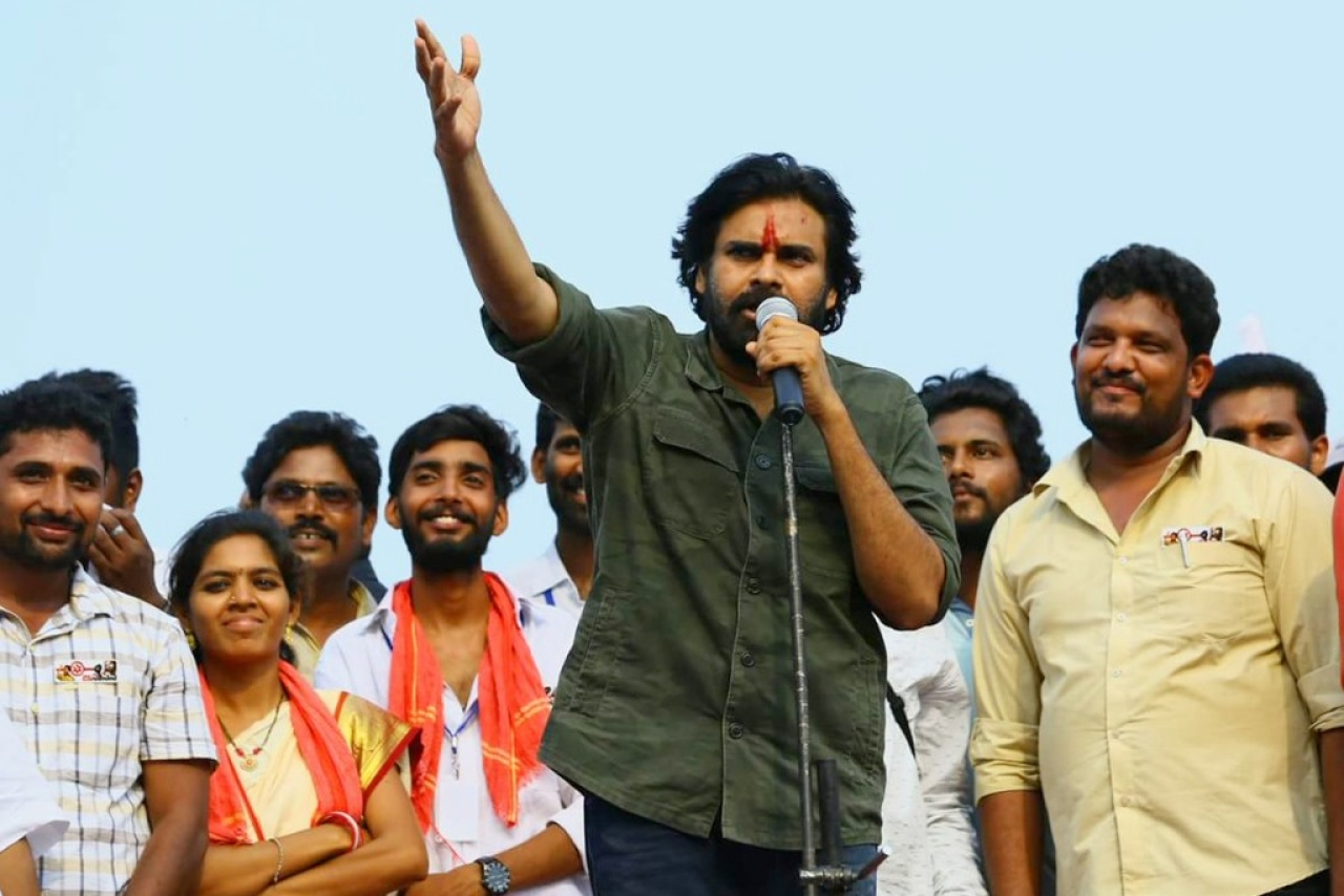 What is the mood inside Janasena party?