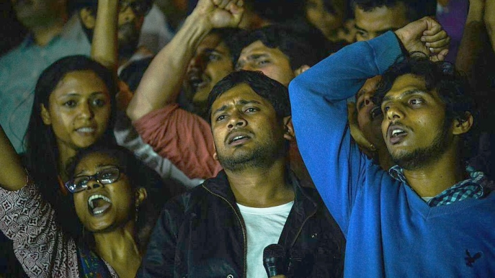 Watch: Kanhaiya Kumar Forgets, Sings National Anthem Incorrectly During 'Save Constitution' Rally