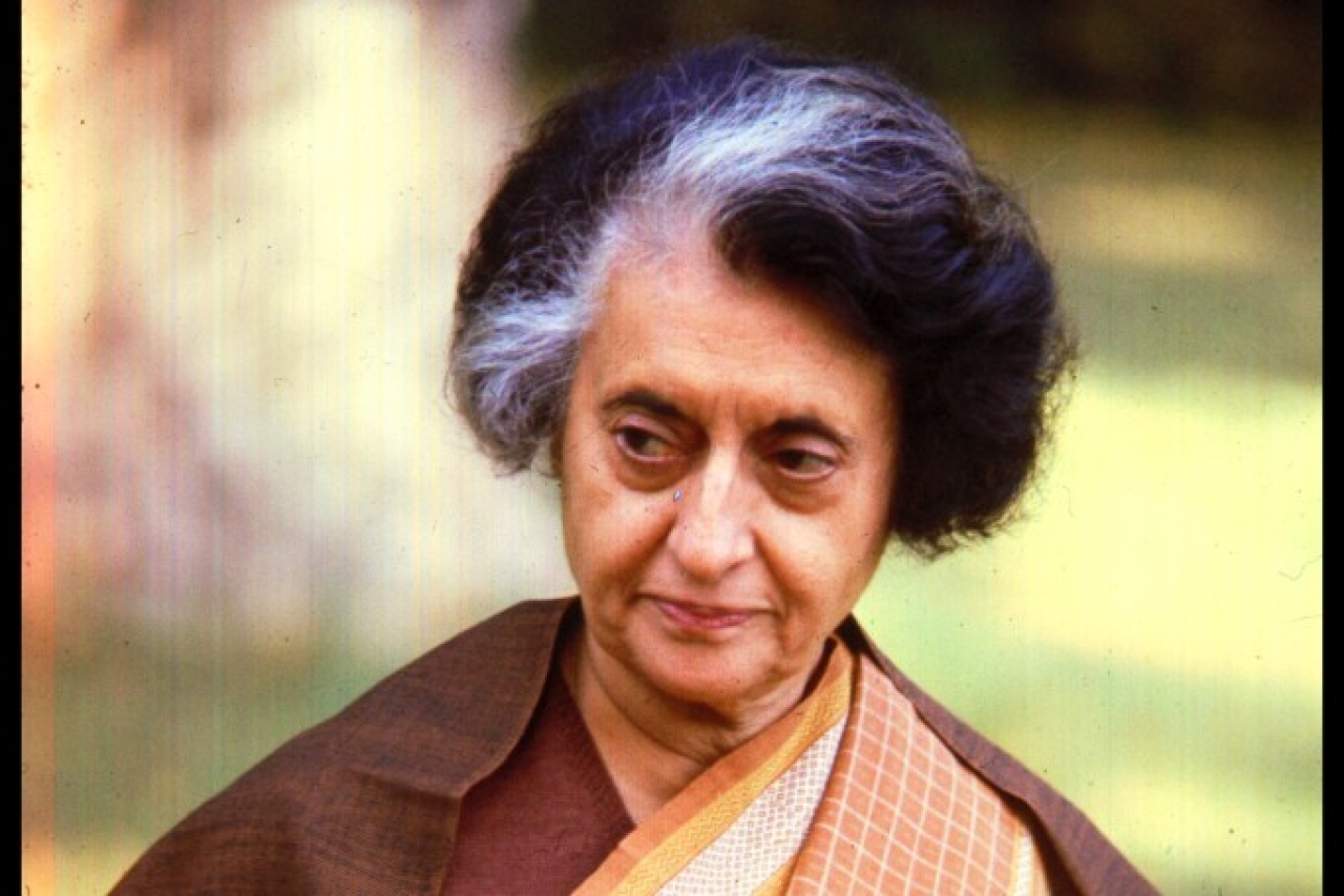 Indira Gandhi (Evening Standard/Getty Images)