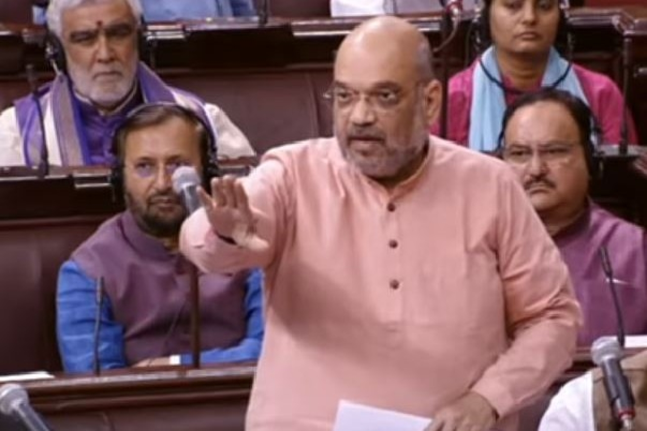 Amit Shah attacked the Congress for raising objections on Assam National Register of Citizens (NRC)