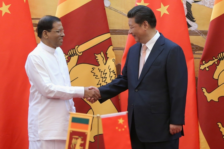 To Buy Influence In Sri Lanka, China Offers $295 Million Grant For Any Project Of President Sirisena's Choice
