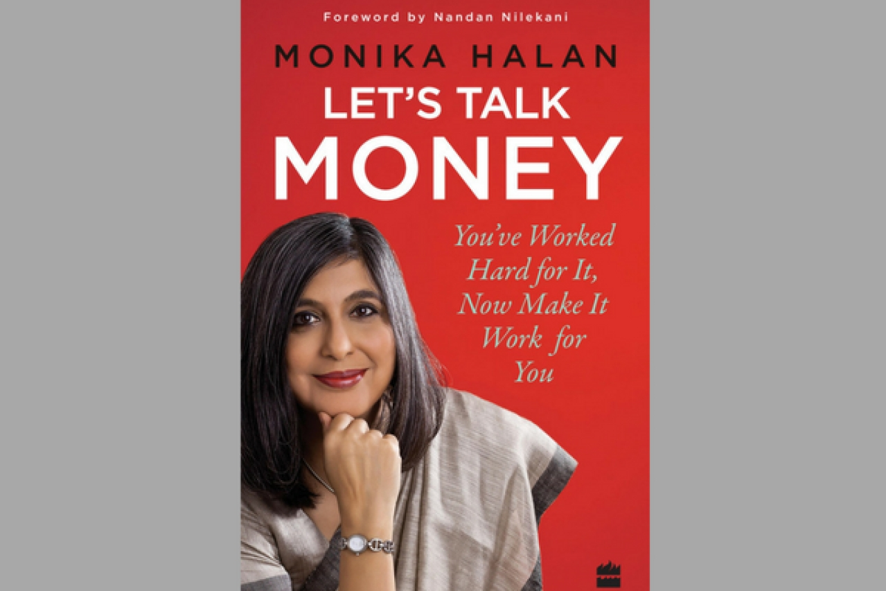 Cover of the book <i>Let's Talk Money</i> by Monika Halan (HarperCollins India)