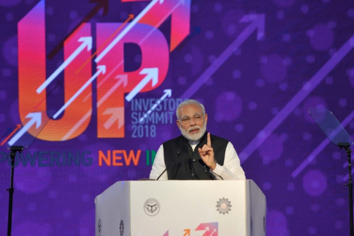 Watch: Modi Hits Out At Opposition, Says Not Afraid Of Publicly Standing Beside Industrialists, Entrepreneurs