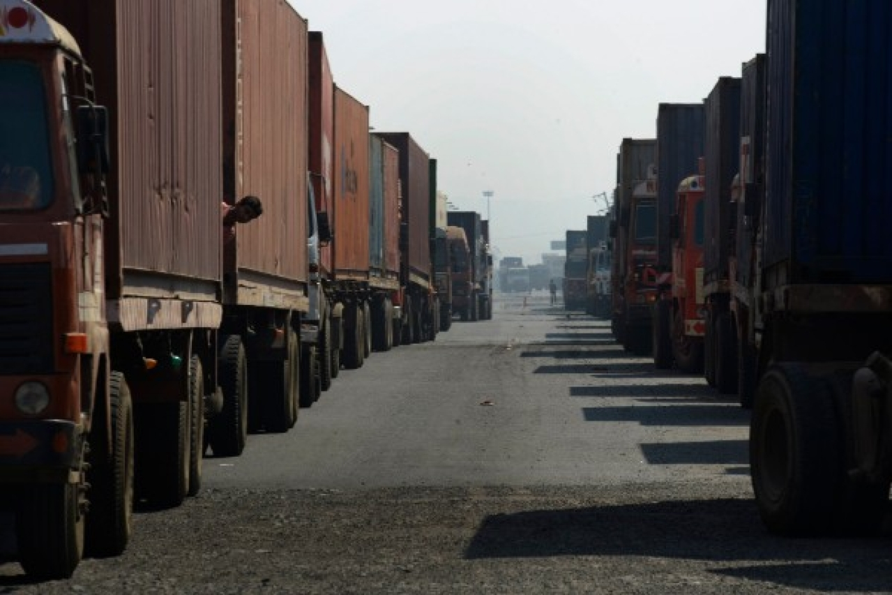 Queues of trucks are now a thing of the past. (Abhijit Bhatlekar/Mint via Getty Images)