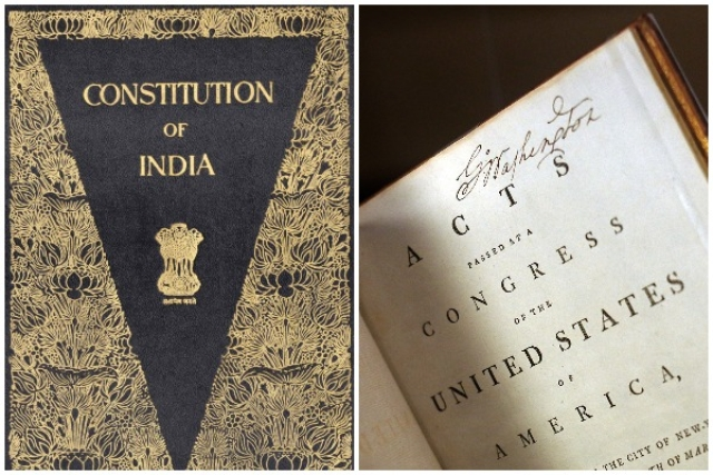 American And Indian Constitutions: A Study In Contrast