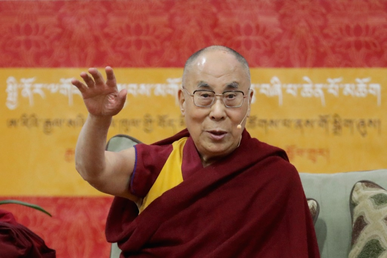 The Dalai Lama. (Chip Somodevilla/Getty Images)