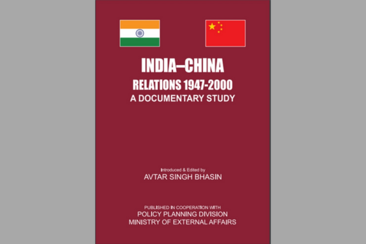 Cover of the book <i>India-China Relations 1947-2000: A Documentary Study</i>