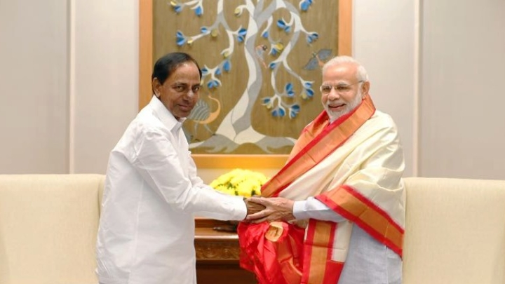 KCR Meets PM Modi, Says TRS Can Support BJP If It Falls Short Of Majority In 2019 National Elections