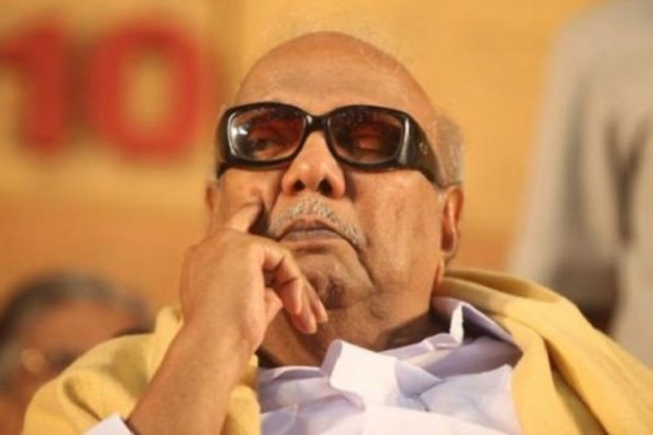 M Karunanidhi to be buried at Marina Beach in Chennai.
