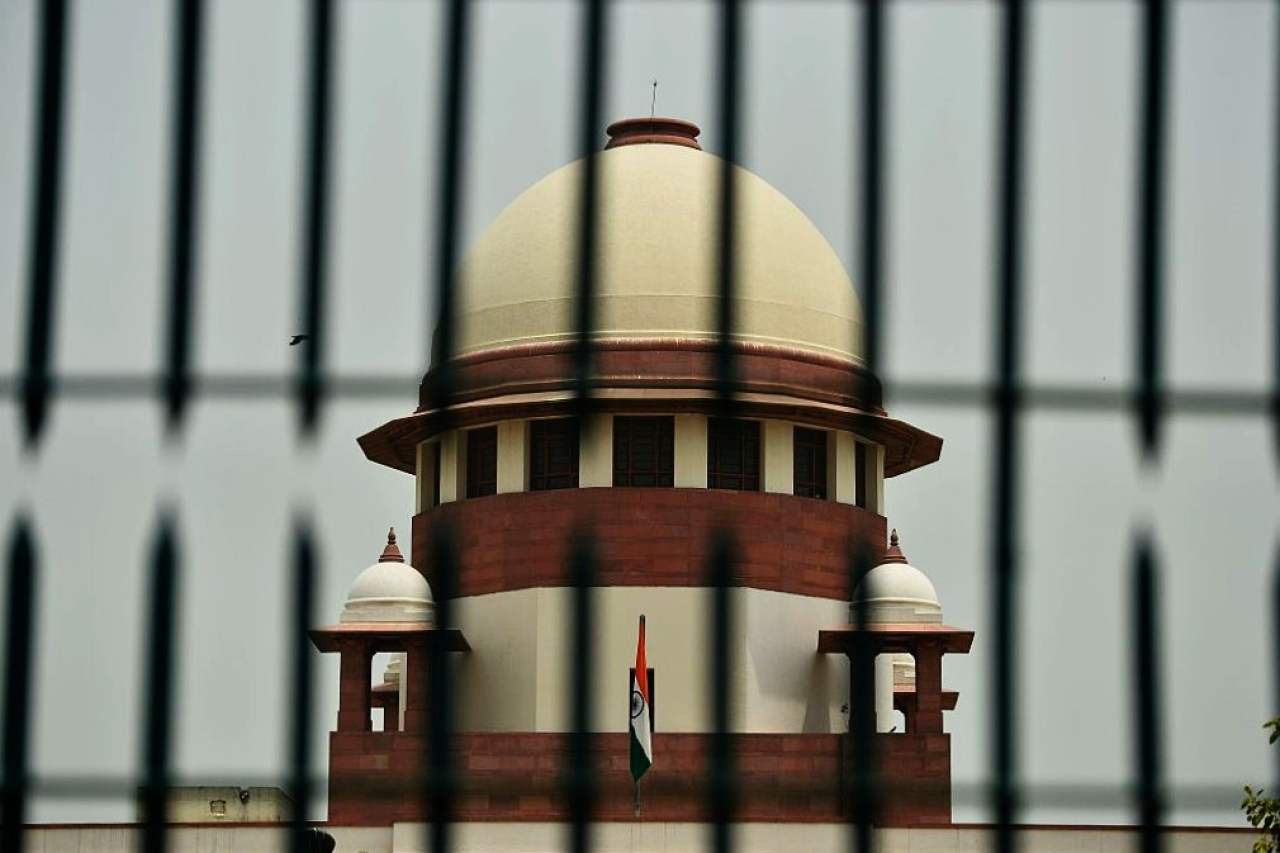 A view of India's Supreme Court building (SAJAD HUSSAIN/AFP/Getty Images)