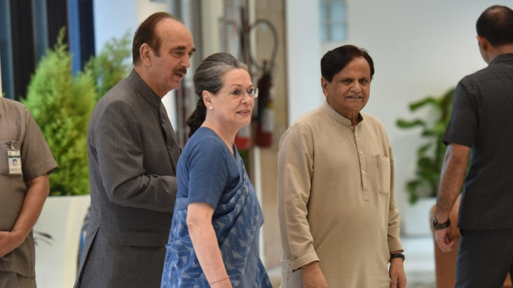 Sonia Gandhi Elected Congress Parliamentary Party Chief By Party's Elected MPs