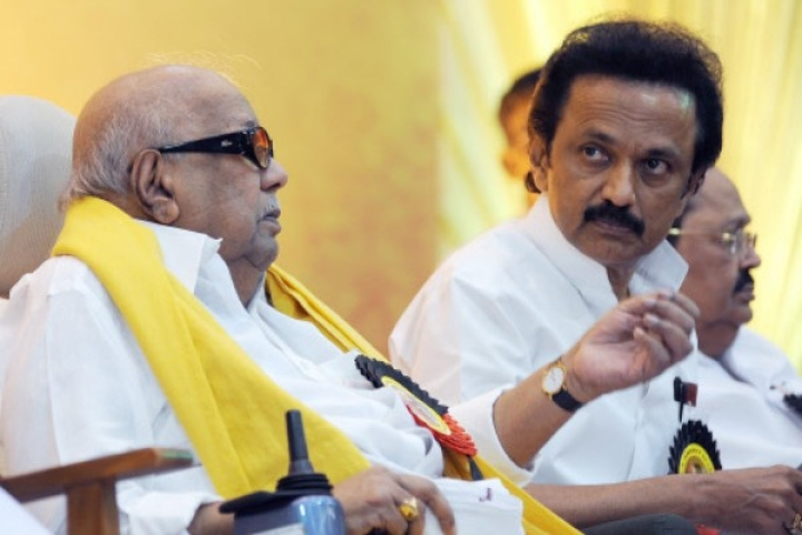 When Karunanidhi Asked Reporters 'Shall We Set Maran, Stalin Afire On Anna Salai?'