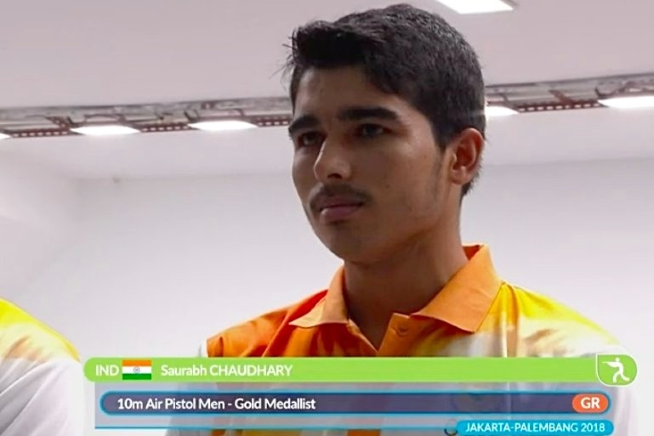 Saurabh Chaudhary Breaks 10m Air Pistol World Record To Win Gold At ISSF World Cup; Qualifies For Tokyo Olympics