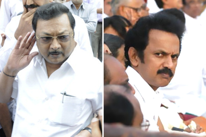 All Eyes On Alagiri After Stalin Set To Be Sworn-In As DMK Chief On Tuesday
