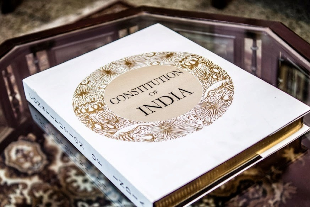 The Constitution of India.