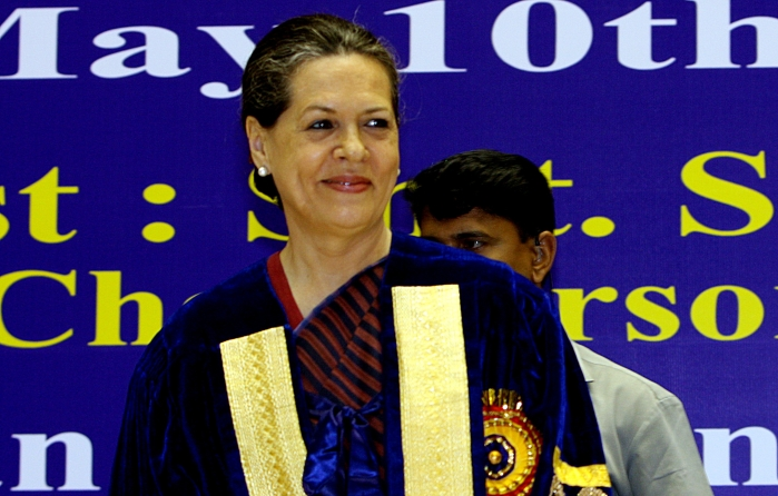 After Day-Long Deliberations, Congress Names Sonia Gandhi As Interim Party President