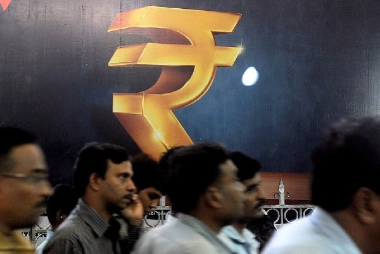 The rupee has tanked against the dollar, but it's important to read the fineprint before forming judgements (INDRANIL MUKHERJEE/AFP/Getty Images)