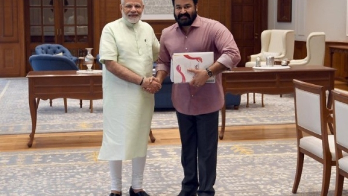 RSS Actively Trying To Field Mohanlal In Lok Sabha Polls; Final Decision Rests With Actor, Claims Report
