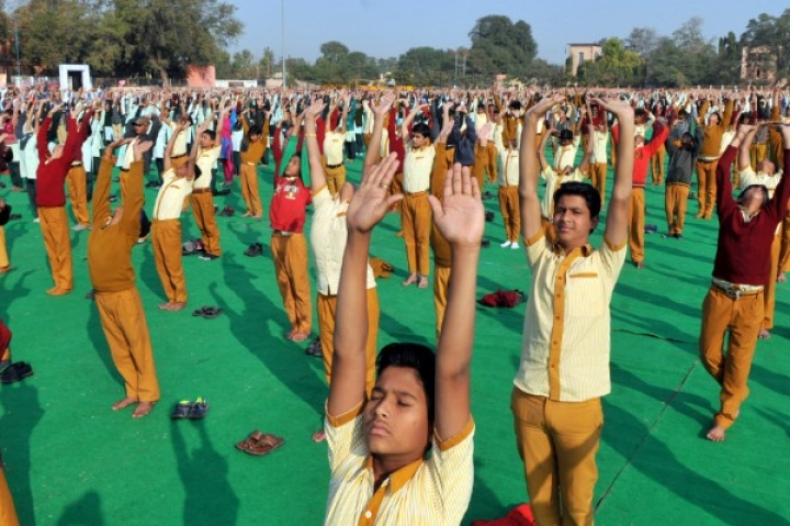 Kumaraswamy Government Introduces Yoga And Aerobics For School Children, Teachers Complain About Staff Shortage
