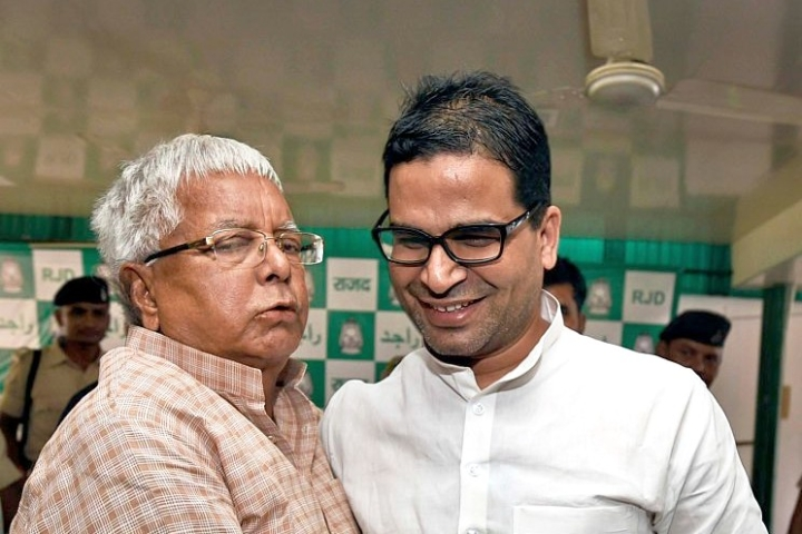 Lalu's Claim On Nitish Kumar Wanting To Rejoin Mahaghatbandhan Is Bogus: Prashant Kishor