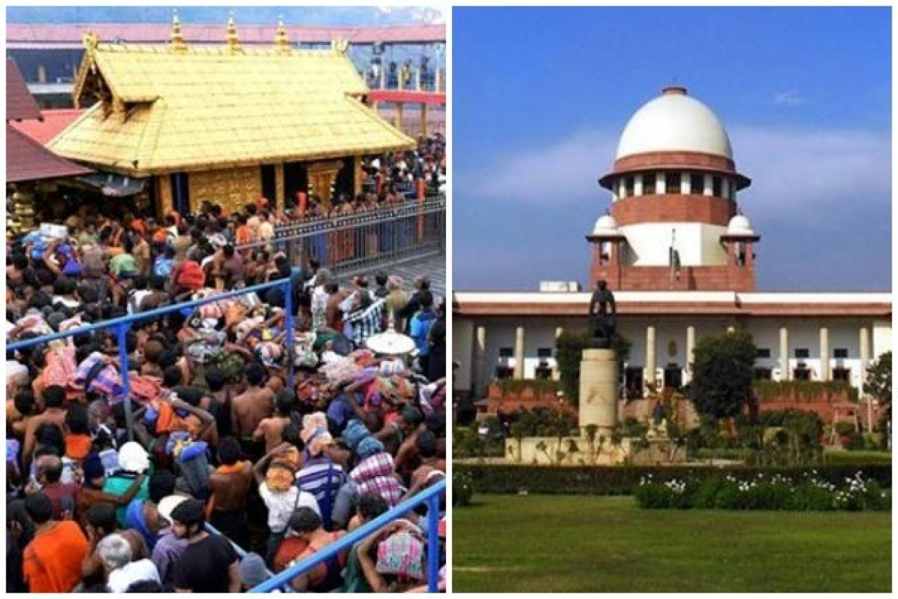 The Sabarimala pilgrims and the Supreme Court of India.